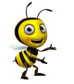 Sweet honey bee — Stock Photo