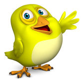 3d cartoon bird — Stock Photo