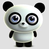 玩具熊猫 — 图库照片