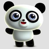 Cute panda — Stock Photo