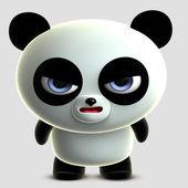 3d panda — Stock Photo