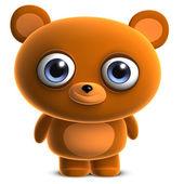 Cute cartoon bear — Stock Photo