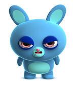 Modrý králíček — Stock fotografie