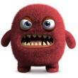 Cute furry monster — Stock Photo #13302263