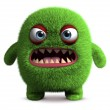 Cute furry monster — Stock Photo #13302276