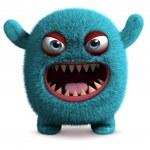 ������, ������: Cute furry monster