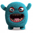 Cute furry monster — Stock Photo #13302311