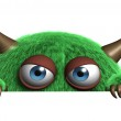Cute furry alien — Stock Photo #13303540