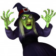 Stock Photo: Witch