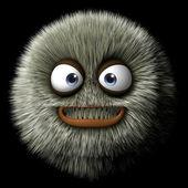 3d cartoon monster — 图库照片