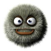 Furry monster — Stock Photo