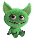 Furry gremlin — Stock Photo