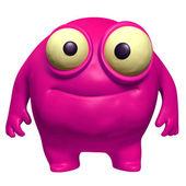 розовый милая урод — Стоковое фото