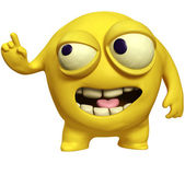 Yellow virus — Stock Photo