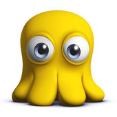 Cartoon octopus — Stock Photo