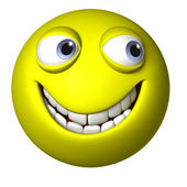 Troll face — Stock Photo
