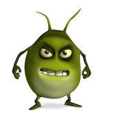 Cute computer bug — Stock Photo