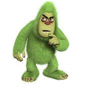 Green freak — Stock Photo