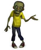 Zombie boy — Stock Photo