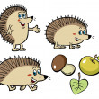 Hedgehog — Stock Vector #13304627