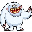 Yeti or Snow Monster - Stock Vector