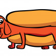 Hot Dog — Stock Vector