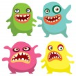Monsters — Stock Vector #13304725