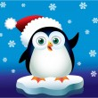 Christmas Penguin — Stock Vector #13304762