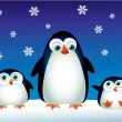 Penguin — Vettoriali Stock