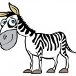 Royalty-Free Stock Vector Image: Cartoon zebra