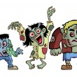 Halloween Monsters — Imagen vectorial