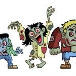 Halloween Monsters — Stock Vector #13304826