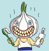 Garlic — Stock Vector