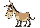 Donkey — Stock Vector