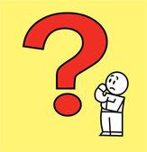 Question mark — Stock Vector