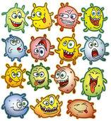 Germs — Stock Vector