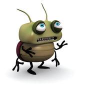 Sad green bug — Stock Photo