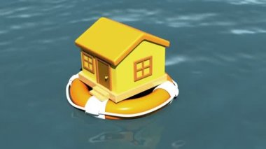 house in lifebouy
