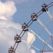 Ferris wheel — Stock Video