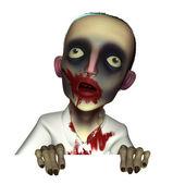 Halloween bloody zombie — Stock Photo