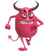 3d cartoon devil — Stock Photo