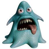 3d 卡通万圣节怪物 — 图库照片