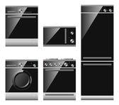 Vector home appliances — Stock Vector