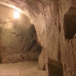 Stock Video: Inside cave of Rabbi YehudHanassi, Bet Shearim, Israel