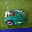 Robomow robotic lawn mower - Stock Photo