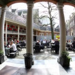 Coffee at the Amsterdam Museum Netherlands - Lizenzfreies Foto