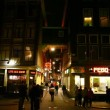 Amsterdam Red Light District, tram, Vodka Museum, Holland — Stock Video