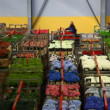 Stock Video: Aalsmeer Flower Auction Market in Holland