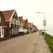 Fishermen's village Holland — Stock Video