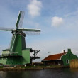 Windmills in Holland - Foto Stock